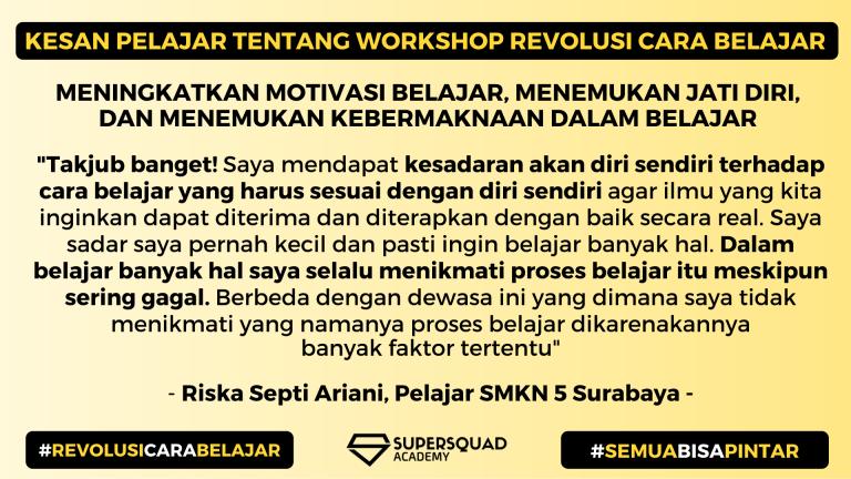 Kesan Workshop Revolusi Cara Belajar 3