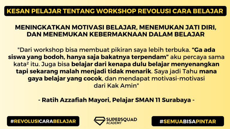 Kesan Workshop Revolusi Cara Belajar 4